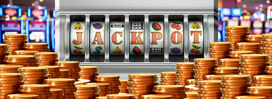 Slot jackpot machine